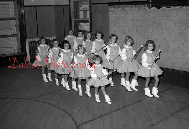 (08.28.1958) Majorettes.