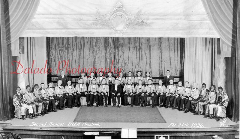 (02.24.1936) Rutherian Ushers Association inside the Vicky.