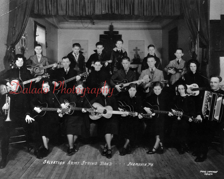 Salvation Army String Band.