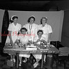 (10.07.1954) Five registered nurses volunteer their team. Seated are, from left, Ann Cawtaern, Winifred Startzel; standing Robert Lynch, Dorothy Henry and Ruth Shugars.