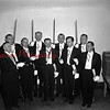 (03.15.1956) Shamokin Council Knights of Columbus Fourth Degree Assembly on March 15, 1956. Pictured are, front row, from left, Peter Harris, Elwood Slotterback, Ted Szverra, Charles Rosini and Frank Marcinek; back, Joseph Slotterback, Michael Stanitski, Phillip Binkoski and Job Clements.