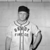 (1953) Brady Fire Co. baseball player.