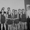 (1957) Unknown basketball group.