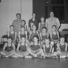 (Dec. 1957) Youth basketball team.