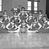 (1963) Cheerleaders, unknown school.