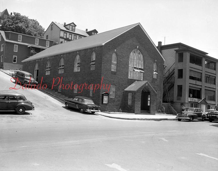 (1954) Assembly of God Church, Market Street.