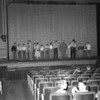 (06.12.51) Academy School, group on stage.