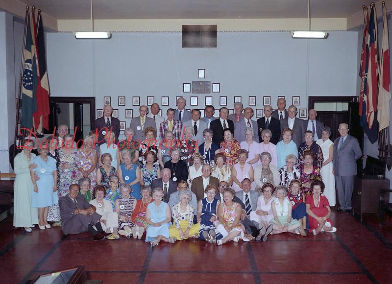 (1974) A 50th anniversary class.