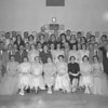 (05.27.54) Members and guests of the 25th anniversary class of the Coal Township High School alumni association are shown in the White American Legion Ballroom. Pictured are Helen (Marcinek) Kurtz, Lena (Hain) Crowl, Mrs. Edward Linderman, Mrs. Nesbert Appel, Alice (Welker) Zeigenfuse, Margaret (Foieri) Childs, Helen (Rutkofsky) Kopper and Josephine (Gryskiewicz) Grybowski; second, Mildred (Long) Gage, Joseph Kurtz, Joseph MacDougall, Mrs. Amos Miller, Mrs. Peter Merena, Mrs. Leonard Fitzpatrick, Gertrude (Beadle) Derrick, Grace (Stroup) Dimm, Frank Belski and Roy Sanders; third, Ed Linderman, Ralph Crowl, Alvin Thomas, Oscar Derrick, Grant Zeigenfuse, Dan Berry, Ed Hancock, Ed Zablosky and Mark Childs.