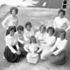 (Sept. 1962) Cheerleaders, unknown school.