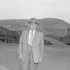 (April 1955) Most likely a Pennsylvania R.R. man.