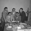(09.29.55) New officers of the Shamokin Area Junior Chamber of Commerce are, seated, from left, Frank Shuman and John Chaplinsky; standing, Attorney Daniel Martini, Daniel Soranno and Ronald Kahler.