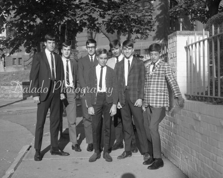 (Sept. 1966) Washington Grade School students.