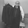 John Derck, of 212 Main St., Ranshaw, retires as a trainman for Reading Railroad in Nov. 1957.