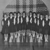 (1962-62) Shamokin High School cheerleaders.