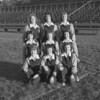 (1951-52) Shamokin High School cheerleaders are, front row, from left, Kandra, Kline, Ballantine and Miller; second, Linderman, Renn, Schlegel, Long and Shipman.