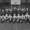 (1951-52) Shamokin High School wrestling are, front row, from left, Cawthern, Murdock, Moore, Eltringham, Futchko, Faust, Cawthern, Haddock and Laskoskie; second, Lehman, Jacobs, Edmunds, Tyson, Moser, Verano, Einsel, Smith and coach Paul.