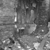 (04.08.71) St. Edward Church fire. This is presumably where the fire started. It is believed a lit candle fell, catching a rug on fire, which then spread to the wall.