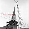 (08.20.73) Replacement of the church steeple at St. Edward Church.