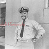 (July 62) Tamalonis, possibly Coast Guard recruiter, in front of Shamokin Citizen office.