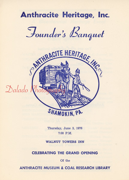 (06.03.1976) Opening of the Anthracite Heritage Museum.
