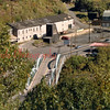 "(1987) The Cameron Bridge at the Glen Burn (Cameron) Colliery. The bridge was replaced by PennDOT in 2006 after 73 years of use. The pumphouse (odd-shaped building) was torn down in 2008...<br /> <br /> Cameron Bridge Project --> <a href=""http://www.daladophotography.com/Shamokin/Cameron-Bridge-Project/3183056_t9sV8F#!i=190746286&k=BJPnY"">http://www.daladophotography.com/Shamokin/Cameron-Bridge-Project/3183056_t9sV8F#!i=190746286&k=BJPnY</a>"