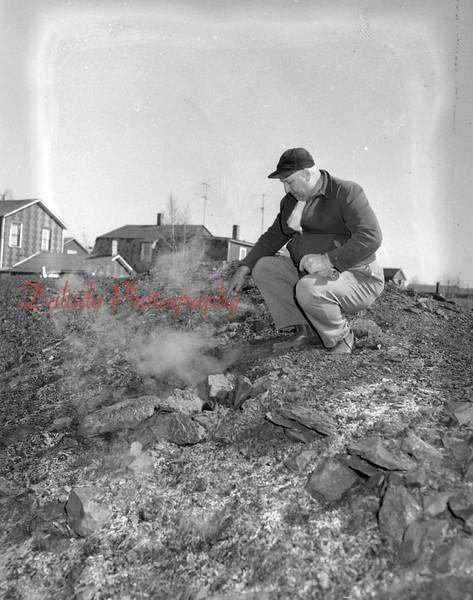 (April 1955) Culm bank fire, I believe in Natalie.