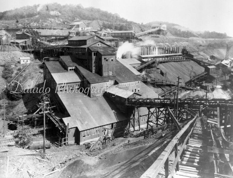 Potts Colliery in Locustdale.
