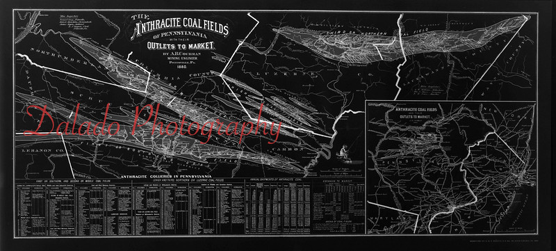 Anthracite Coal Fields.