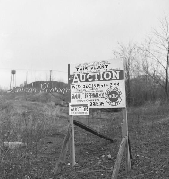 (1957) Sale of a breaker.