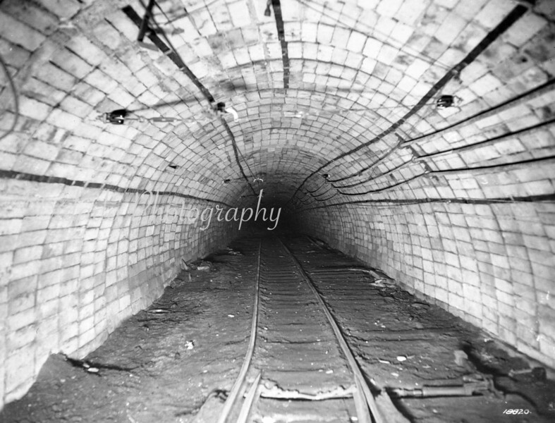 Mine tunnel, unknown.