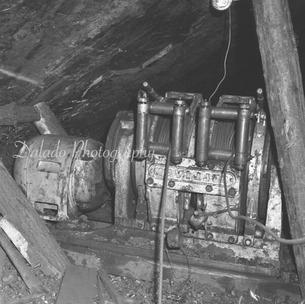 (Summer 1962) Jimmy Varano inside a mine.