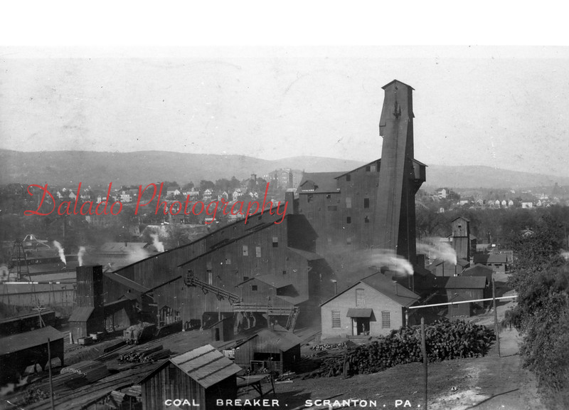 Colliery in Scranton.
