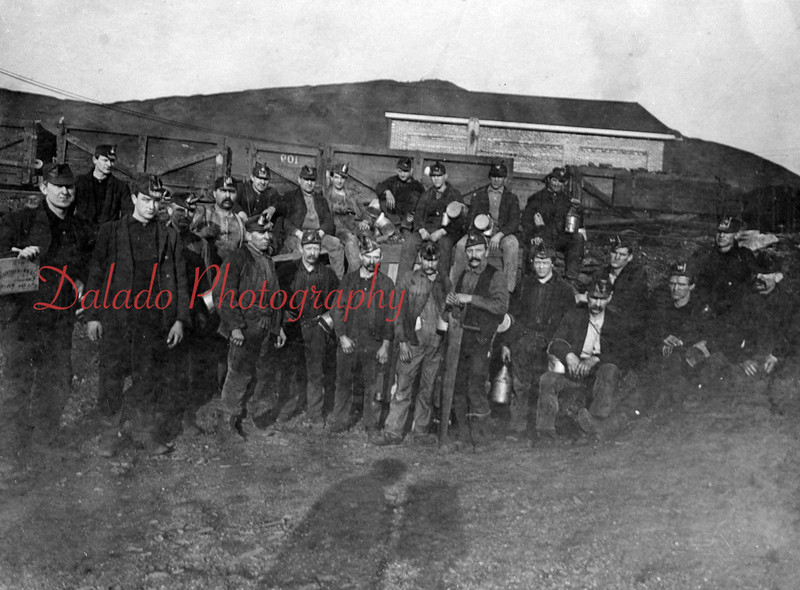 Old miners photo.