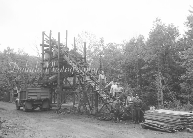 (1962) Mining group.