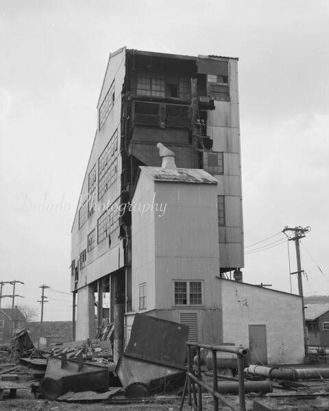Demolition of a breaker.