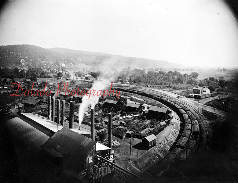 (09.20.1915) Nanticoke Colliery, Wyoming Division shown.