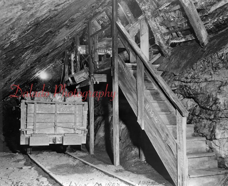 (1944) Glen Lyon mine.