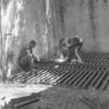 (1962) Closing a shaft at Luke Fidler.