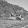 (June 1958) Steam shovel.