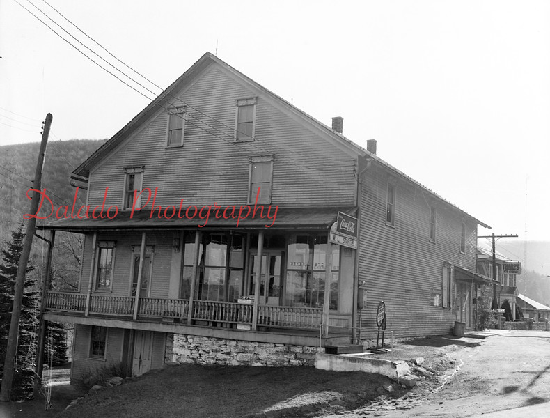 (12.01.53) Bear Gap Store along Route 54.