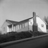 (02.28.57) The Mannells home at the corner of Fifth and Chestnut streets was the last new home to be constructed in Kulpmont in 1957.