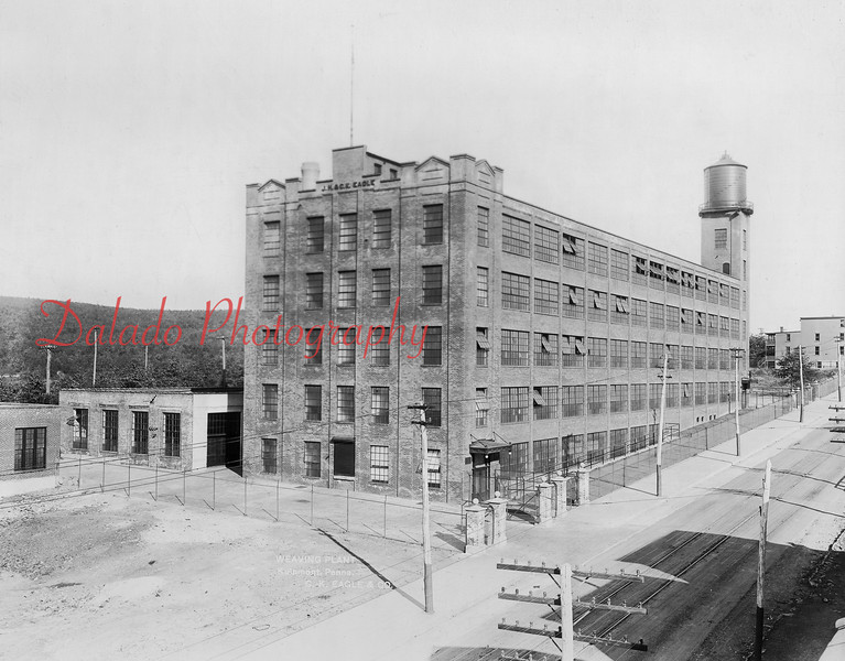 Weaving Plant of J.K. and C.K. Eagle & Company- Chestnut Street (Route 61) is located on the right.