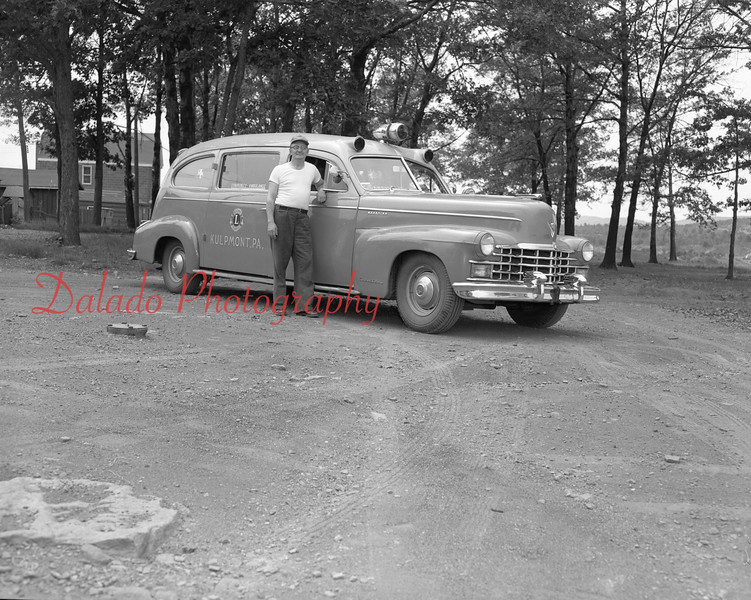 (06.19.1953) Kulpmont Community Ambulance- This association was sponsored by the Lions Club and was composed of Lions Club members and a pastor of each of the four community pastors. The first ambulance was purchased in 1942.