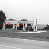 (Sept. 1954) Sinclair Gas Station, unknown location.