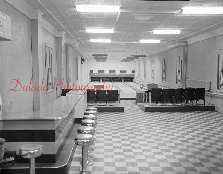 (11.18.1956) Hollywood Bowling Alley on November 18, 1956. Ernest Bodner, manager.