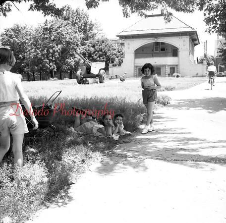 (1956, April through July) Mount Carmel Town Park.