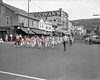 (1961) Youth baseball league parade.
