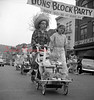 (1956, April through July) Mount Carmel children's parade.