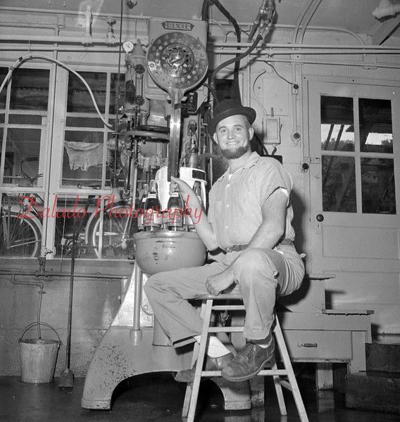 (1956, April through July) Zerbe Beverage.